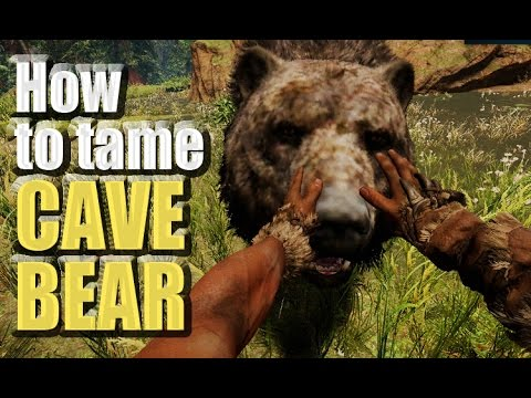 Far Cry Primal How To A Tame Cave Bear Travelling Finding