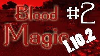 обзор1.10.2 Blood Magic - Кристаллы и предметная передача - часть 2 - S5-EP3