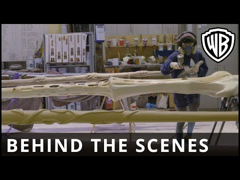 Fantastic Beasts: The Crimes Of Grindelwald - Wands Installation Behind The Scenes - Warner Bros. UK