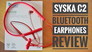 Syska C2 Wireless Bluetooth Earphones Review My Honest Opinion