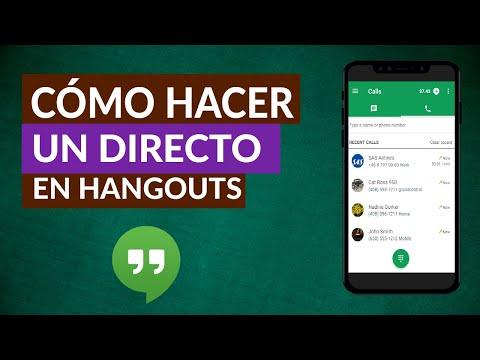 Cómo Hacer Hangouts en Directo – Hangouts On Air