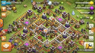 Clash of clans bb11- bb10 canlı klan savaşları