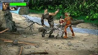 Unbound Saga Sony PSP Gameplay - Beach Brawl
