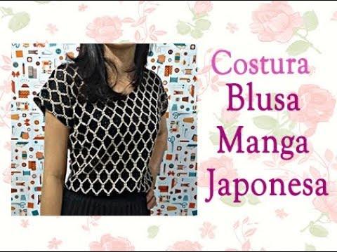 5cb614cda28d Blusa manga japonesa - Costura Super FÁCIL!! FELIZES PARA SEMPRE ...