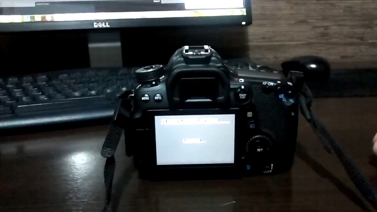 canon 70d how to determine firmware