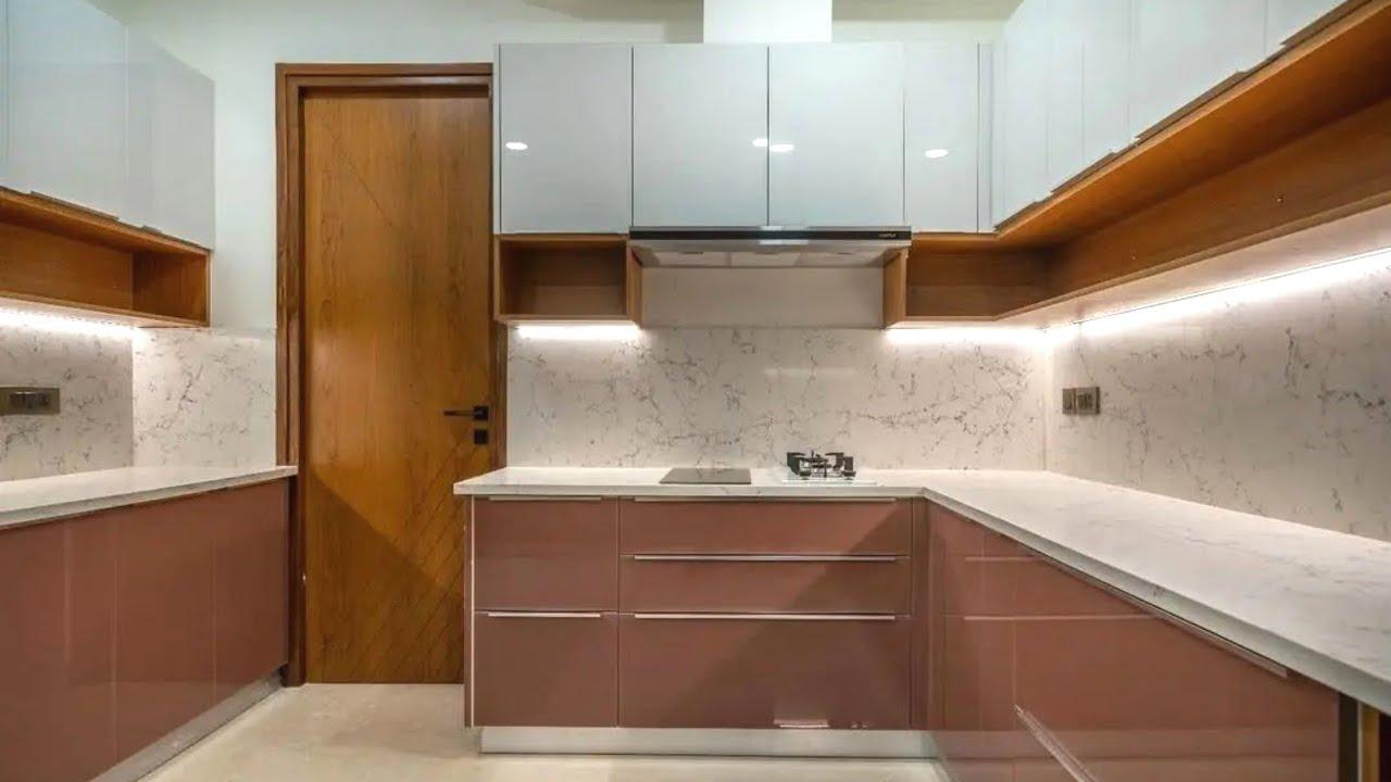Modular Kitchen Design Ideas 9   Modern kitchen Cabinet Design   Kitchen  Colour Combination