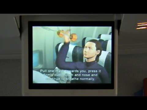 Safety Intrusctions Video Air Berlin Boeing 737-700