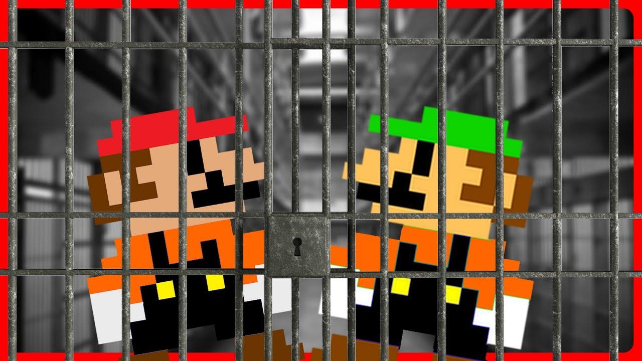 Mario and Luigi BREAK OUT OF JAIL!