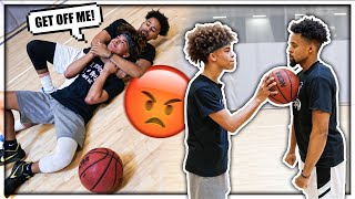 1v1 Gone Too Far.. we fought!! 😡👊🏽  *NOT CLICKBAIT*
