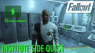 Fallout 4 - (Spoiler) Political Leanings (Institute Side Quest)