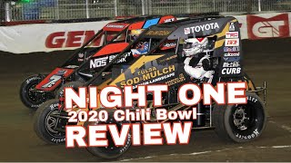 2020 Chili Bowl — NIGHT ONE REVIEW