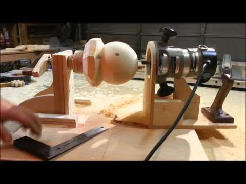 Make Wooden Balls With A Router!