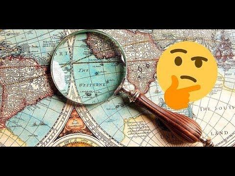 Карты мира.  Альтернативной истории - БОЙ!!!  Введение в тему.  Серия 1.
