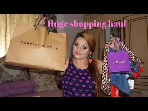 Huge Shopping Haul | Forever 21, Forever New, Charles & Keith, Inglot & HnM