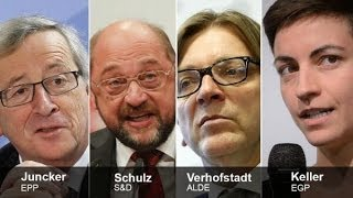 As it happened: first-ever live debate between EU presidential candidates