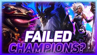 Were These Champions Failures? | Leągue of Legends