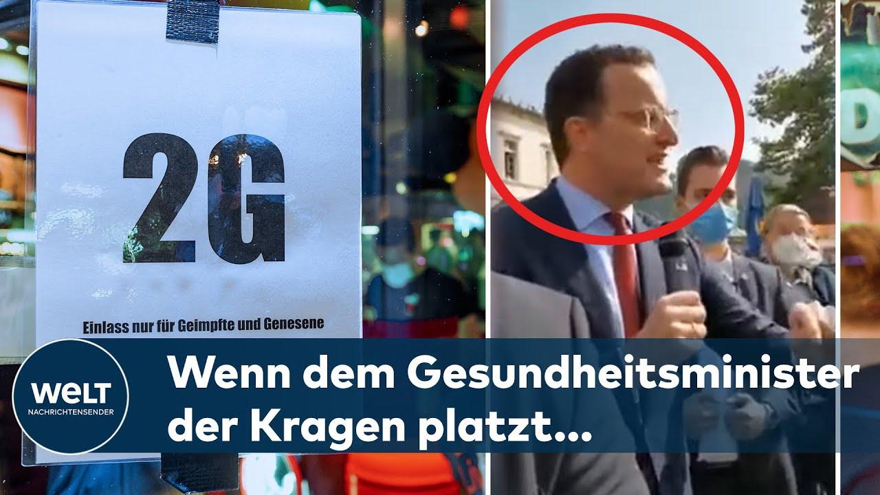 COVID19 in Deutschland Spahn reagiert auf Querdenker  Die aktuelle CORONALage