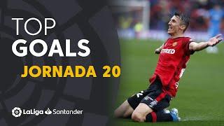Todos los goles de la Jornada 20 de LaLiga Santander 2019/2020