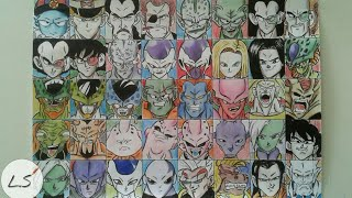Desenhando todos os vilões de Dragon ball /Z/GT/Super - Drawing all evils of Dragon ball