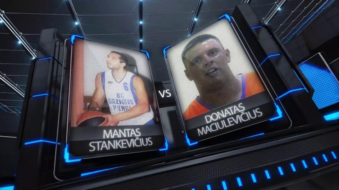 TOPsport Ghetto King 1x1: Mantas Stankevičius vs Donatas Maciulevičius