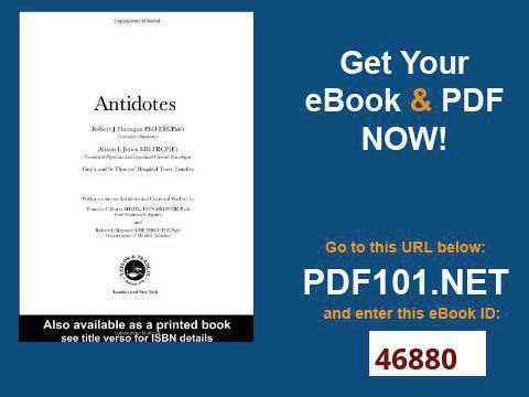 Antidotes Principles and Clinical Applications