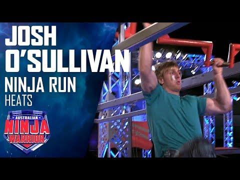 Returning hero Josh O'Sullivan's amazing run | Australian Ninja Warrior 2019