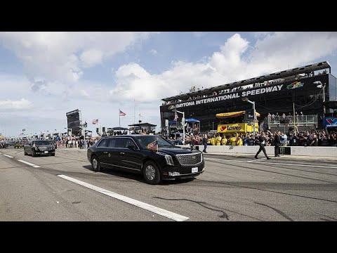شاهد: ترامب يقود -الوحش- على حلبة دايتونا  - نشر قبل 2 ساعة