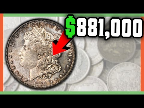 $881,000 RARE MORGAN DOLLAR COINS WORTH MONEY - VALUABLE SILVER DOLLAR COINS!!!