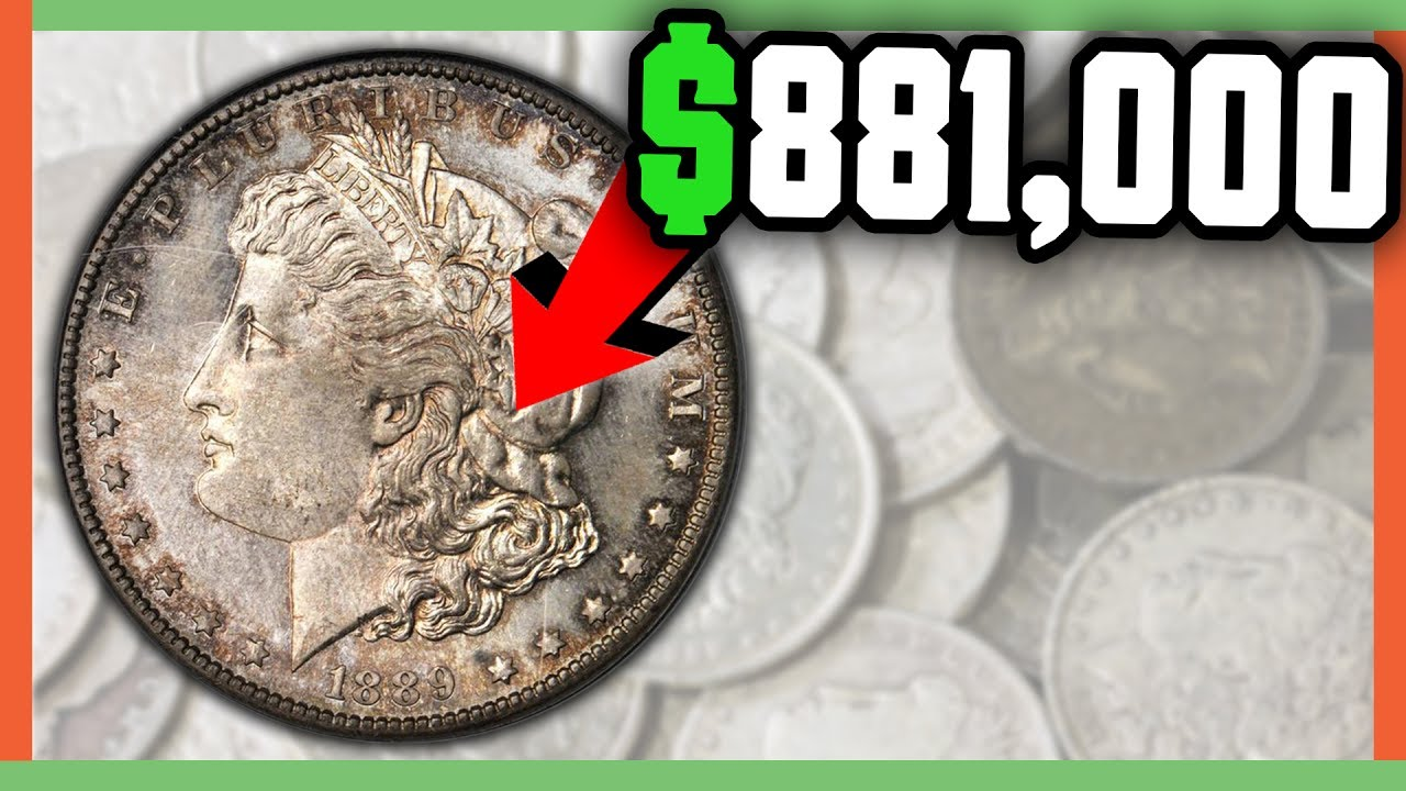 881 000 Rare Morgan Dollar Coins Worth Money Valuable Silver