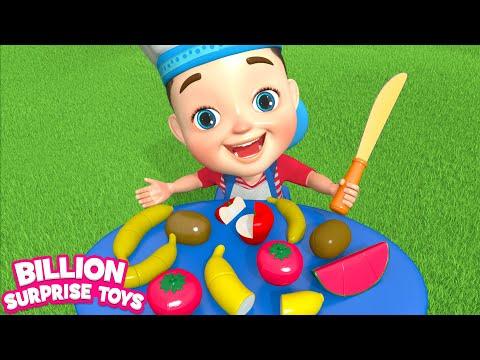 Fruit Salad, Velcro Toys | BST Kids Songs