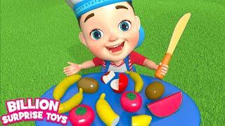 Fruit salad Song | Preschool Songs for Kids | Billion Surprise Toys