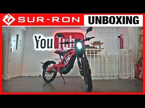 SUR-RON Firefly UNBOXING \u0026 AUFBAU, E-Motocross, electric-Dirtbike, Test, Anleitung, Surron (DEU)