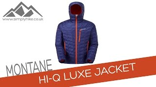 Montane Mens Hi-Q Luxe Jacket - Antarctic Blue - www.simplyhike.co.uk