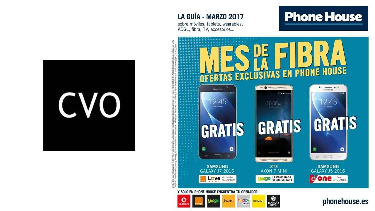 98e013d9fe8 Catálogo Phone House de MARZO 2017 | España - YouTube