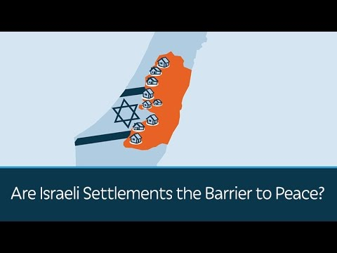 Are Israeli Settlements the Barrier to Peace?