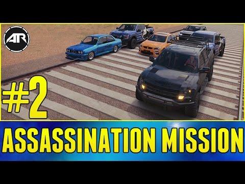 Forza Horizon 3 Online : ASSASSINATION MISSION!!! (Part 2)