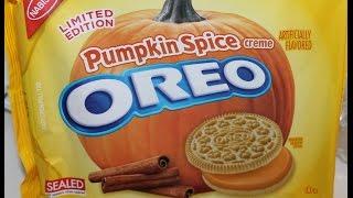 Pumpkin Spice Oreo Review