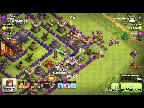 Clash of clans wall breaker glitch