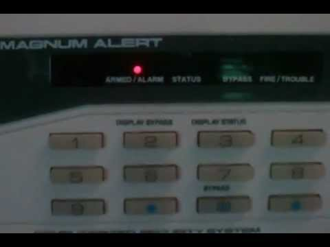 magnum alert alarm system youtube rh youtube com Napco Magnum Alert 1000 Series Magnum Alert Security System
