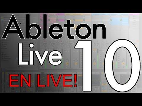 On découvre Ableton Live 10 en live !