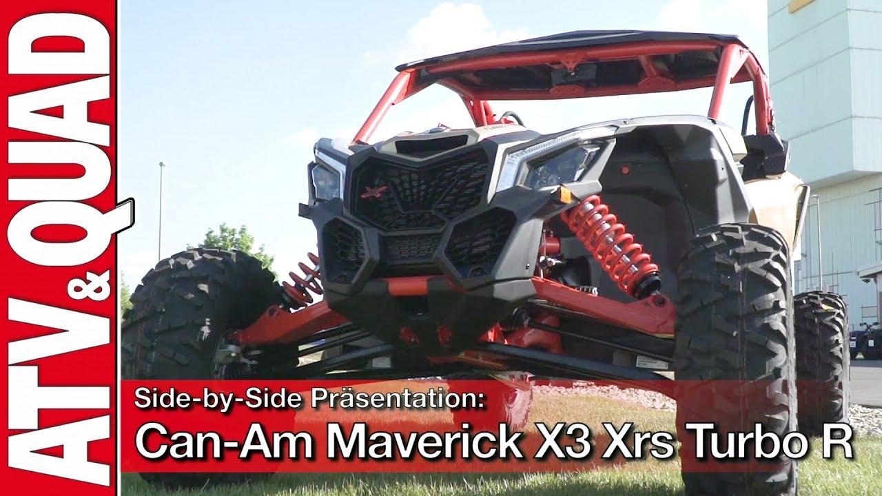Side By Side Prasentation Can Am Maverick X3 Xrs Turbo R Youtube