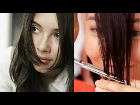 How to cut BANGS at home ||Front  FACE FRAMING  bangs, Flicks /Fringes/ Bangs