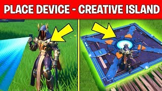 Place Devices on a Creative Island – DAY 13 REWARD (14 DAYS OF FORTNITE CHALLENGES)