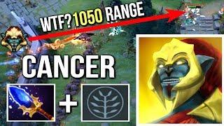 Most Cancerous Hero in Dota 2 - Scepter Huskar 4s Life Break 1050 Range by Secret.MP Imba Dota 2