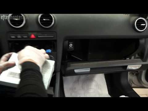 Musik Telefoni Via Bl 229 Tand Bluetooth I Audi A3 A4 A6 Tt Med Concert Originalradio Youtube