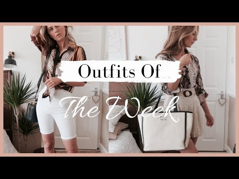 Outfits Of The Week | http://bit.ly/2GPkyb3