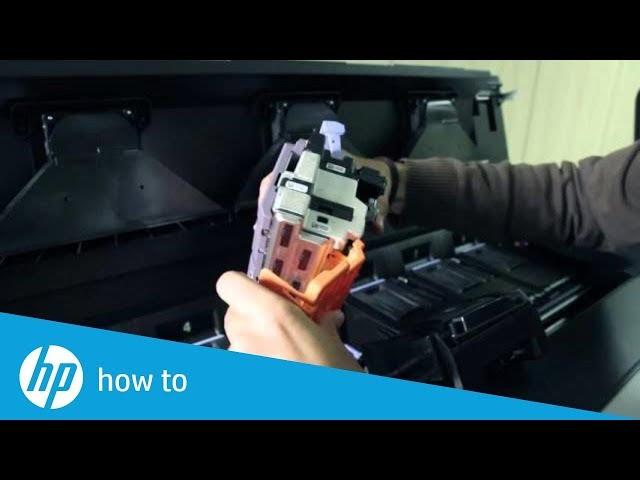 Wymiana głowic w drukarkach HP PageWide XL
