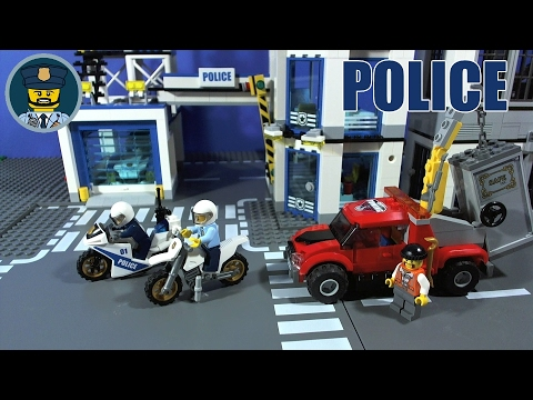 LEGO CITY POLICE Tow Truck Trouble 60137 - YouTube