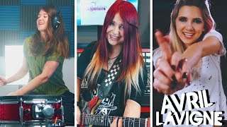 AVRIL LAVIGNE - Girlfriend [COVER] | Jassy J feat. Addie (Halocene) & Klaudia (The Kays)
