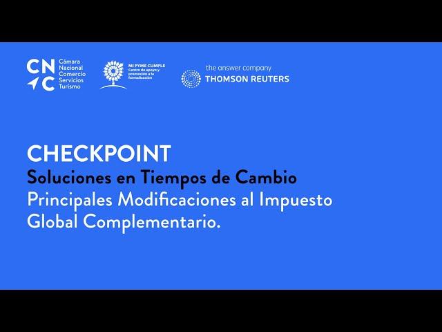 Checkpoint: Soluciones en Tiempos de Cambio